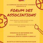 Forum des associations le 05 septembre